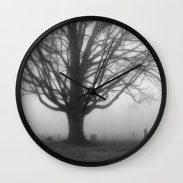 Foggy Morning 2 Wall Clock