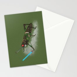 Locust Rider Black RX Stationery Cards