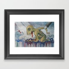 Slave Framed Art Print