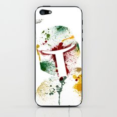 Bounty hunter iPhone & iPod Skin