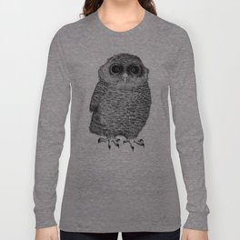 Owl Nr.3 Long Sleeve T-shirt