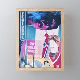 Baby, It's Cold Outside Framed Mini Art Print