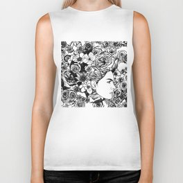 "PHOENIX AND THE FLOWER GIRL ""REFLECTION"" SINGLE PRINT Biker Tank"