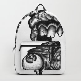 GROATY DUDE - B&W Backpack