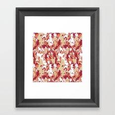 Beware the wolf Framed Art Print