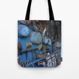 Blue Americana Collection Tote Bag