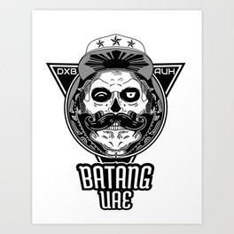Batang UAE ( SON OF UAE ) Art Print