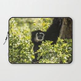 Black monkey Laptop Sleeve