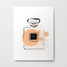 Orange perfume #3 Metal Print
