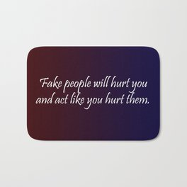 Fake People Bath Mat