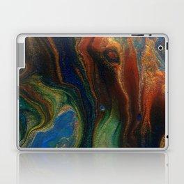 Earth Fire Lava Flow Cells Laptop & iPad Skin