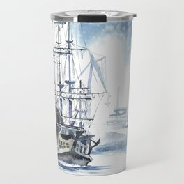 Harbour in Gdynia Travel Mug