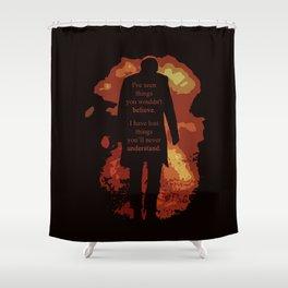 [ Doctor Who ] Eleven Matt Smith Akhaten Shower Curtain