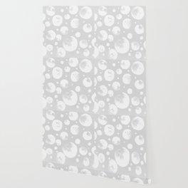 Snowballs-Gray background Wallpaper