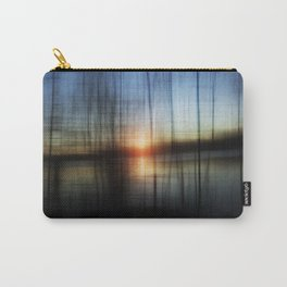 Sunset Blur Carry-All Pouch