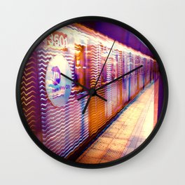 MTA Subway to Hell Wall Clock