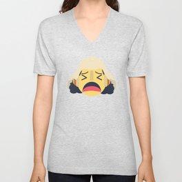 Usopp Emoji Design Unisex V-Neck