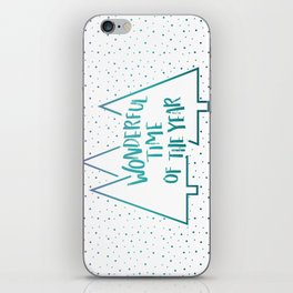 It's The Most #society6 #xmas iPhone Skin