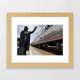 Dark Holiday #6 Framed Art Print