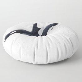 Orca killer whale Floor Pillow