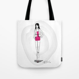 ASTROLOGY ILLUSTRATION SERIES - ARIES Tote Bag