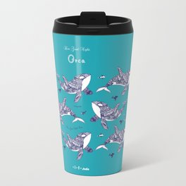 Kiss Good Night - Orca I Travel Mug
