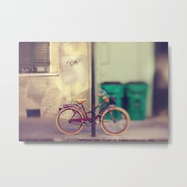 New Orleans Bicycle Metal Print