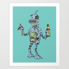 Zender Art Print