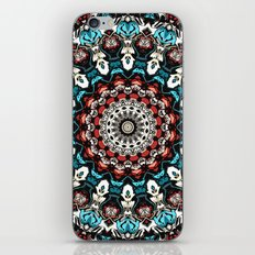 Abstract Shapes Mandala iPhone & iPod Skin
