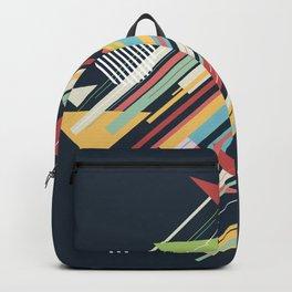 Retro Geo Backpack