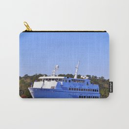 Front Of Gambling Ship Carry-All Pouch