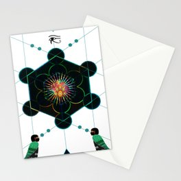 The Core of self - Egyptian Conceptual modern Art Stationery Cards