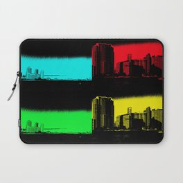 Miami Popart Panorama Laptop Sleeve