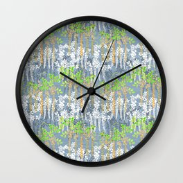 Beautiful Floral pattern Wall Clock