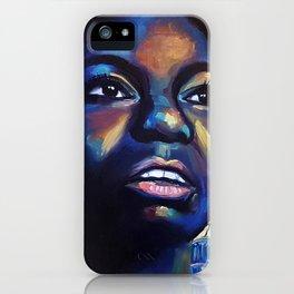 Nina Simone iPhone Case