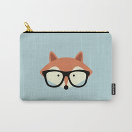 Hipster Red Fox Carry-All Pouch