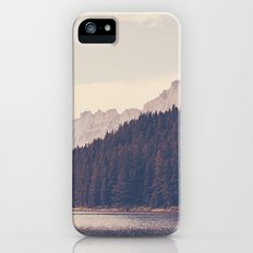 Morning Mountain Lake iPhone SE Slim Case