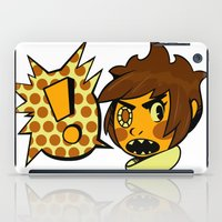 sticker iPad Cases featuring Chip sticker by marvelousghost