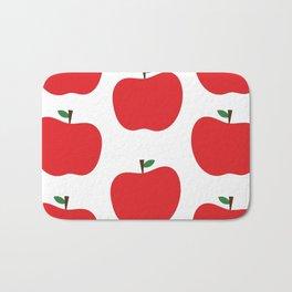 Red Apples Bath Mat