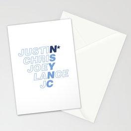 *NSync Stationery Cards