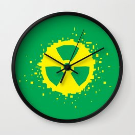 Square Heroes - hulk Wall Clock