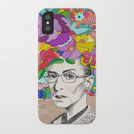 Notorious RBG iPhone Case