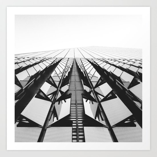 To the Limit - World Trade Center - NYC Art Print