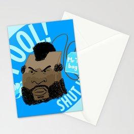 Mr T Bag Stationery Cards