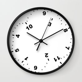 Completely Useless Wall Clock
