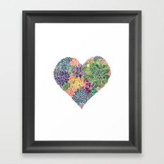 Rooted in Love No.2 Framed Art Print