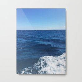 Mediterranean Sea, Crete, Greece Metal Print