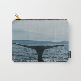 Whale in the sea Carry-All Pouch