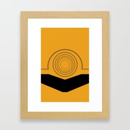 Cee-Threepio Framed Art Print