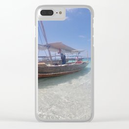 Island Adventures Clear iPhone Case